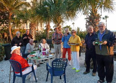 110 Rideau Terrace gather in LongBoat Key!