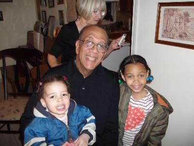 Zoe, Megan and Grandpa